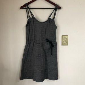 Kavu Striped Strappy Tunic Mini Dress